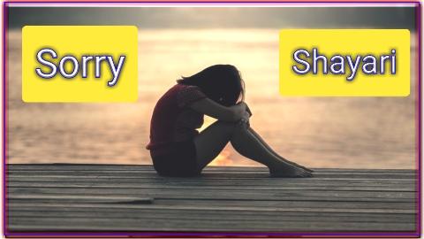 Sorry Shayari In englis